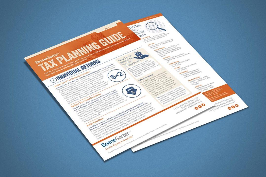 Beene Garter Tax Planning Guide