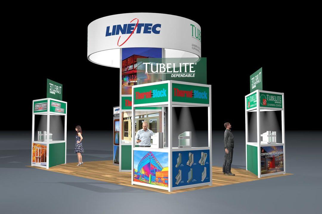 Tubelite Tradeshow Display Concept