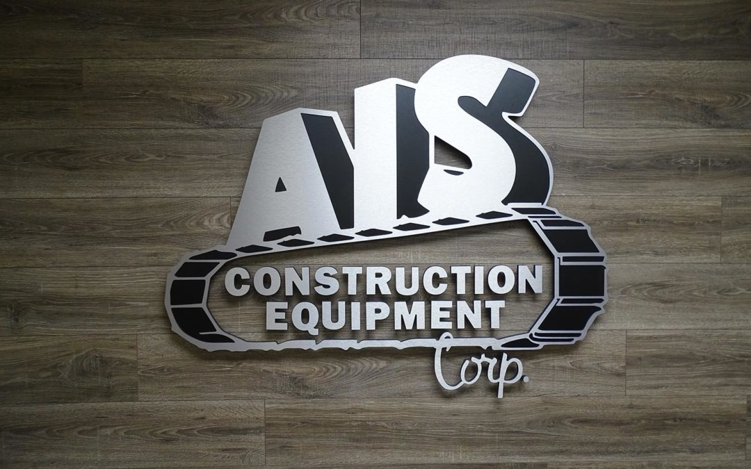 AIS Construction Equipment Interior Sign