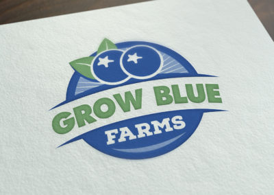 Grow Blue Farms Logo