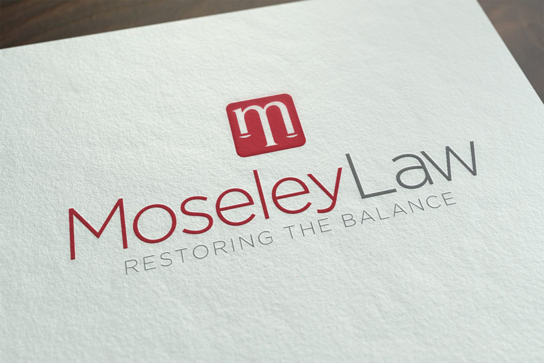 Moseley Law Logo Concept