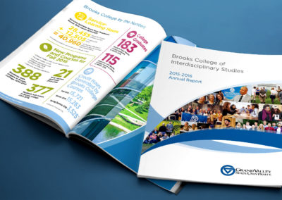 GVSU Brooks College Annual Report