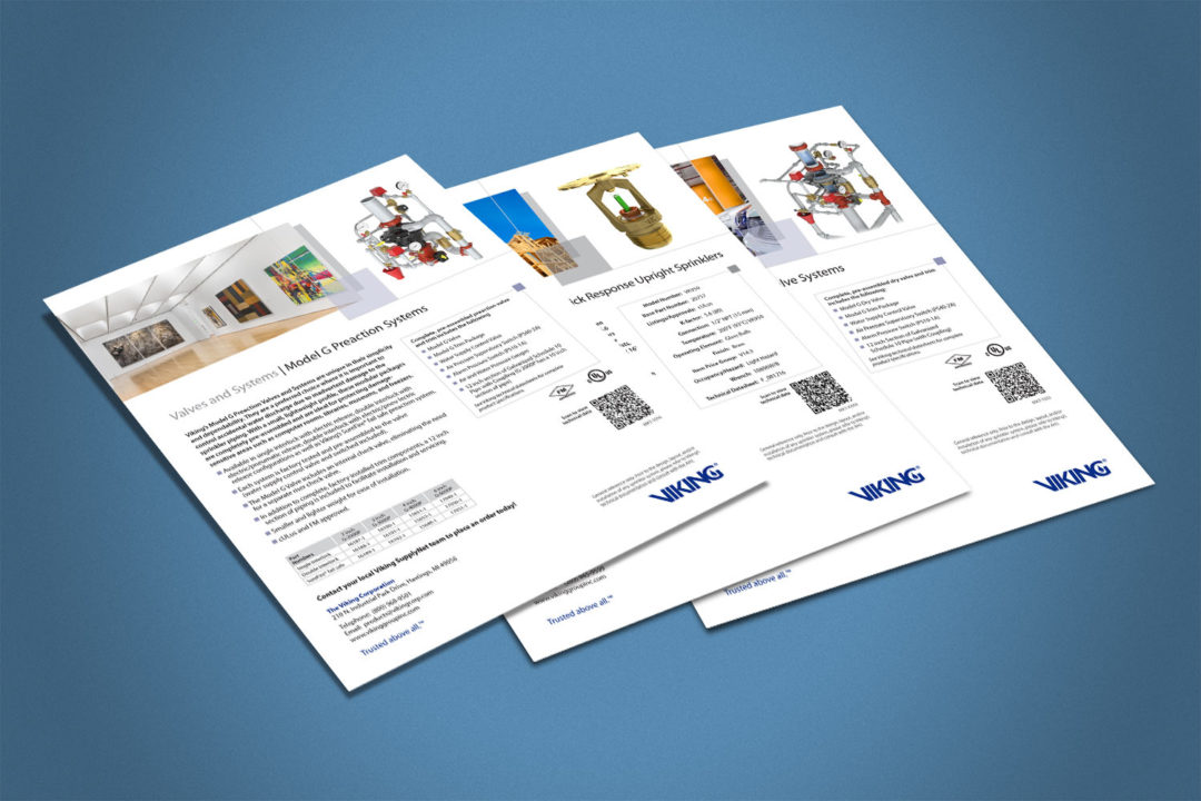 Viking Product Flyers