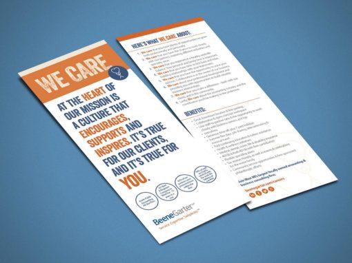 Beene Garter We Care Brochure