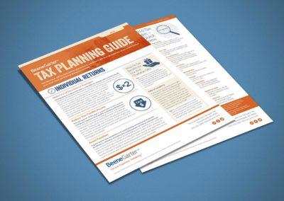 Beene Garter Tax Flyer