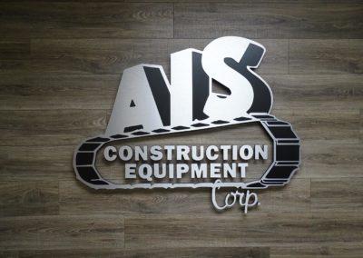 AIS Construction Signage