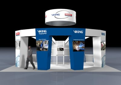Viking Trade Show Booth