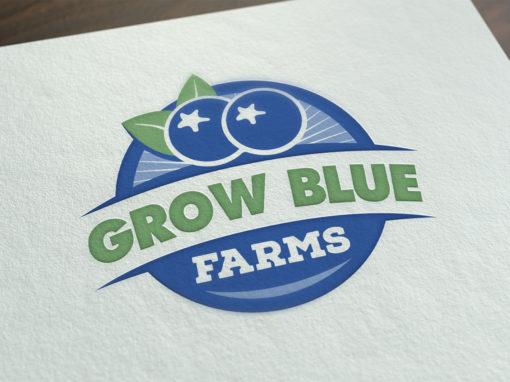 Grow Blue Farms Logo