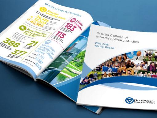GVSU Brooks College Annual Report