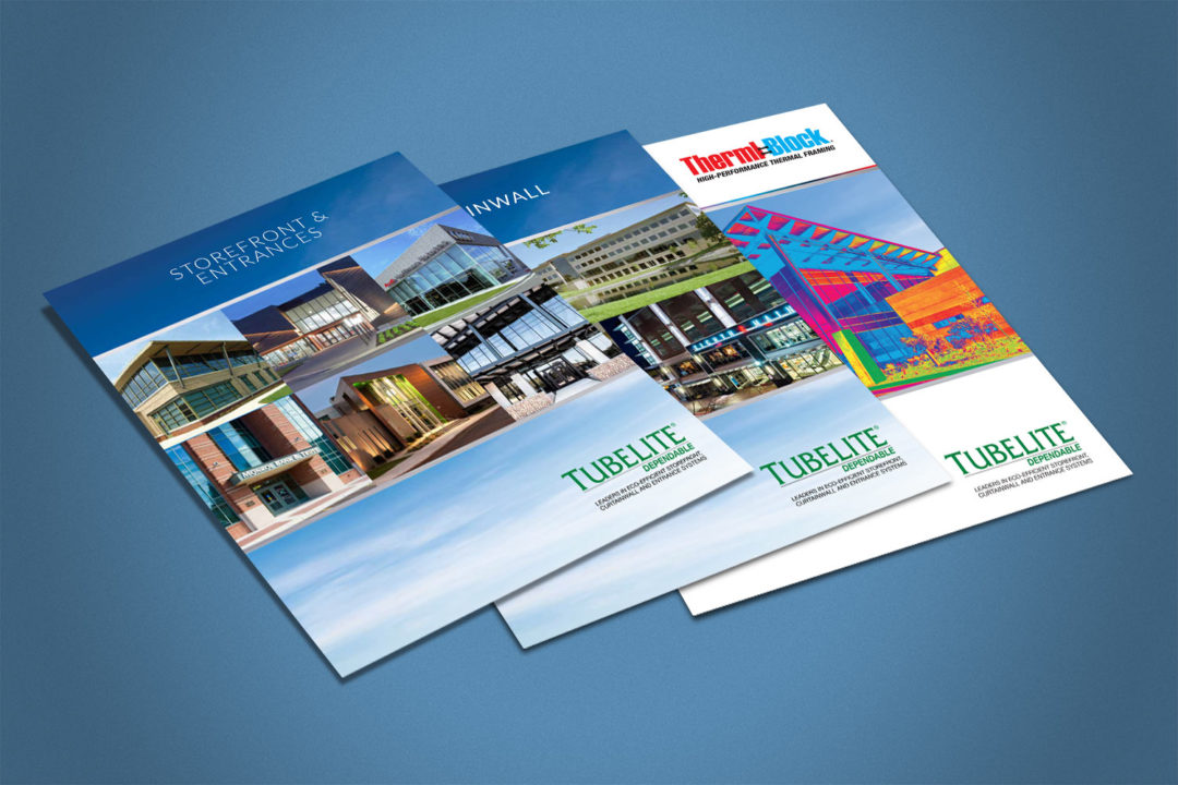 Tubelite Brochures for Storefront and Entrances, Curtainwall and Therml-Block
