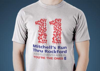Mitchell's Run Through Rockford 2009 Logo