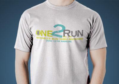 Mitchell's Run Through Rockford 2010 Logo
