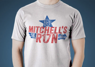Mitchell's Run Through Rockford 2015 Logo