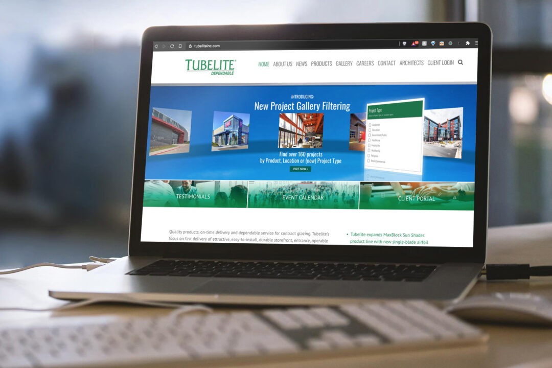 Tubelite Website Design