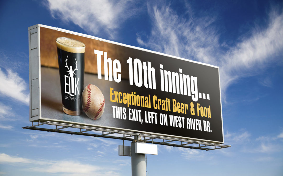 Elk Brewing Billboard