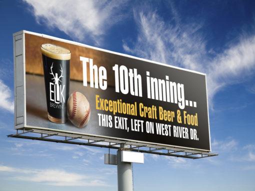 Elk Brewing Billboard