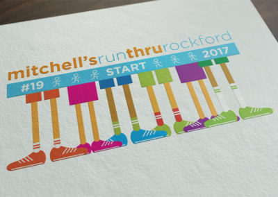 Mitchell's Run Through Rockford 2017 Logo