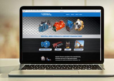 hydraulicres-website-design