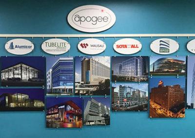 Apogee History Wall