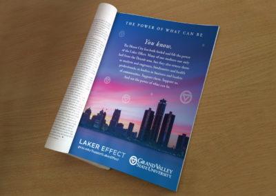 GVSU Print Ad