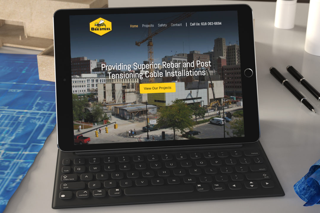 Bee Steel Inc. Website