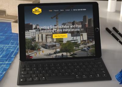 Bee Steel Inc. Website