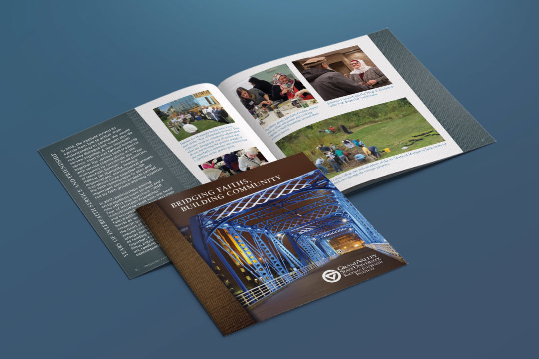 GVSU Kaufman Interfaith Institute Brochure