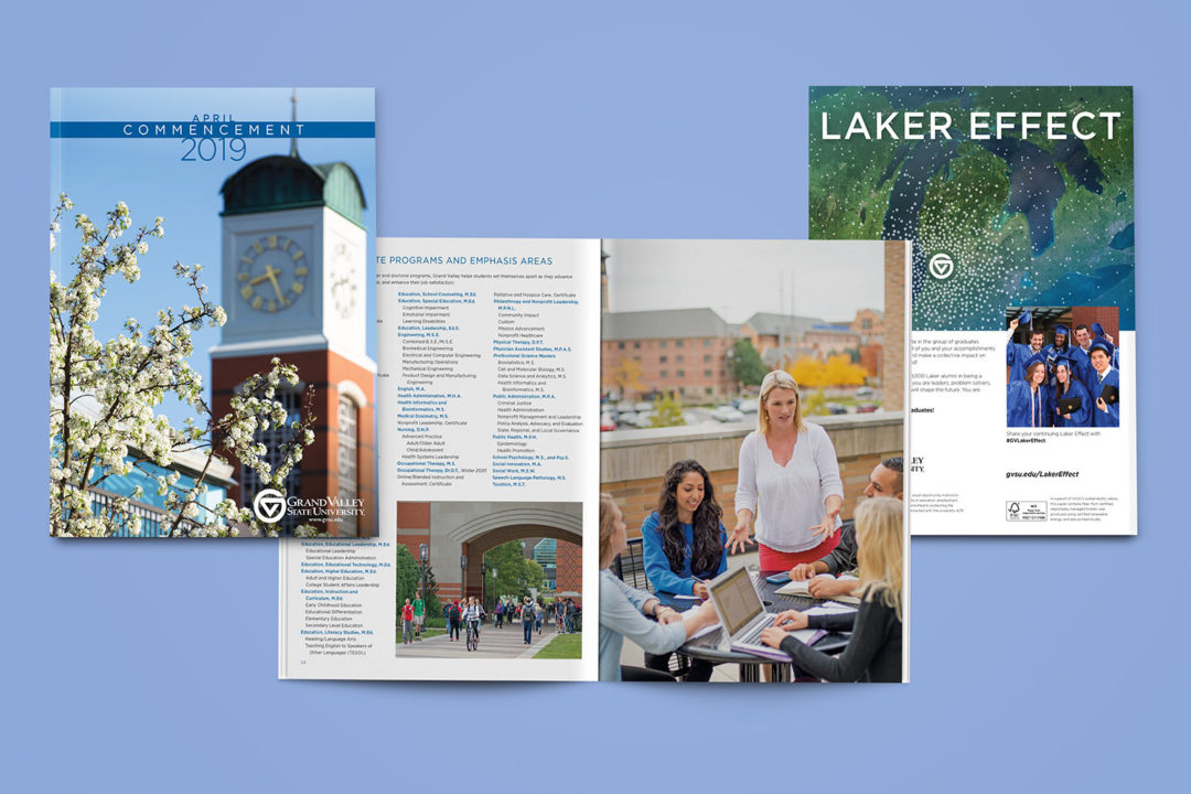Grand Valley State University Commencement 2019 Booklet