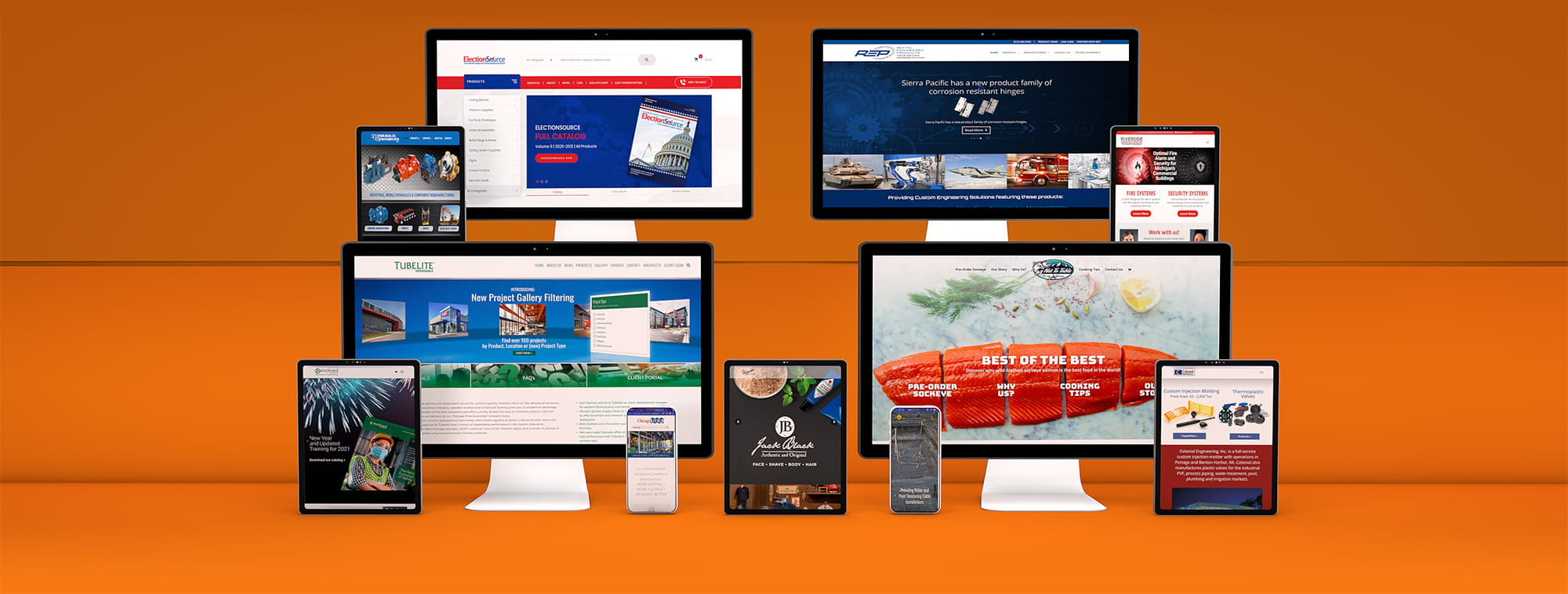 Kruse Web Design Projects
