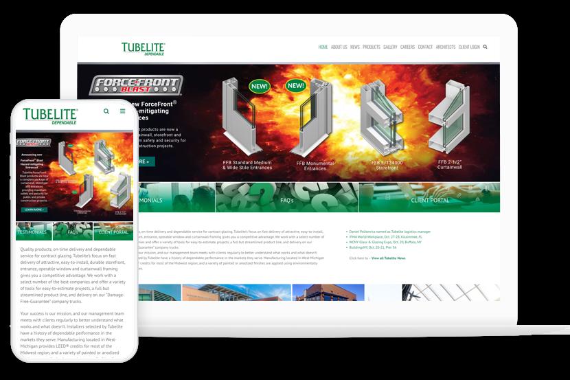 Tubelite Responsive Website